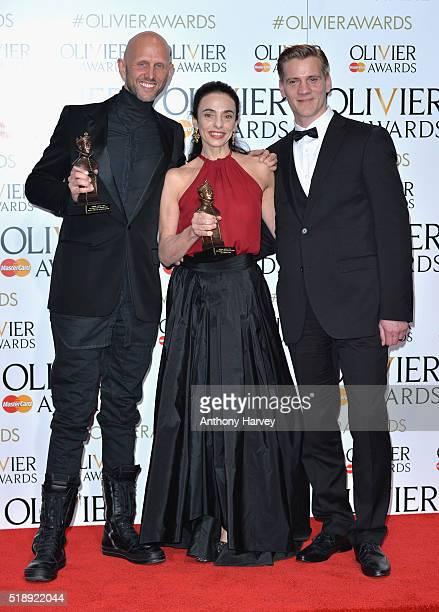 Wayne McGregor winner of the Best New Dance Award for 'Woolf Works' Alessandra Ferri winner of the award for Oustanding Achievement in Dance for...
