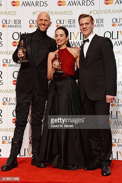 Wayne McGregor winner of the Best New Dance Production award for Woolf Works Alessandra Ferri winner of the Outstanding Achievement in Dance award...