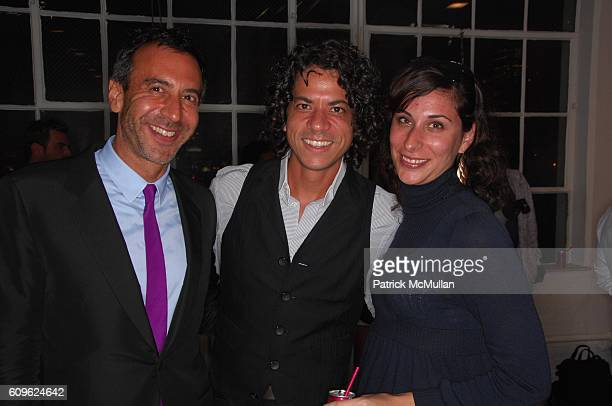 Wayne Nathan George Ramone and Amy Eisenstadt attend LUTZ amd PATMOS Spring 2008 Collection Presentation at Greene Naftali Gallery NYC on September...