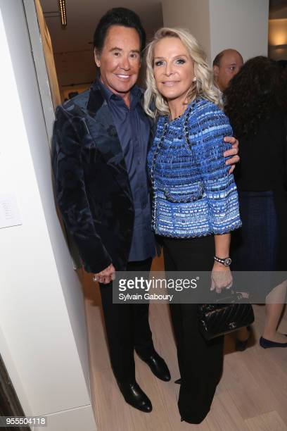 Wayne Newton and Kathleen Newton attend Ambassador Grenell Goodbye Bash on May 6 2018 in New York City