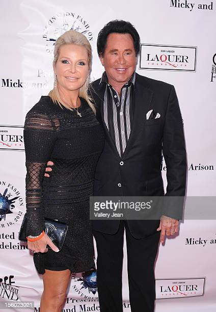 Wayne Newton and wife Kathleen McCrone attend Buoniconti Fund to Cure Paralysis' Destination Fashion 2012 at Bal Harbour Shops on November 10 2012 in...
