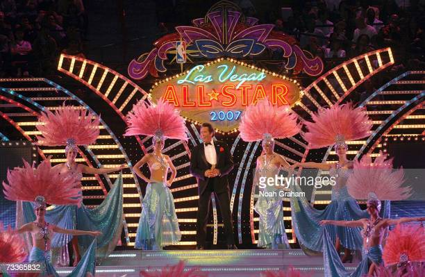 Wayne Newton performs at the 2007 NBA AllStar Game on February 18 2007 at Thomas Mack Center in Las Vegas Nevada NOTE TO USER User expressly...