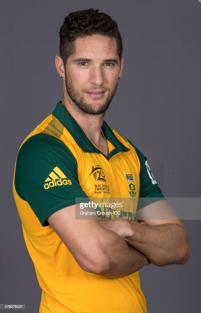 Wayne Parnell of South Africa at the headshot session at the Pan Pacific Hotel, Dhaka in the lead up to the ICC World Twenty20 Bangladesh 2014 on March 16, 2014 in Dhaka, Bangladesh.