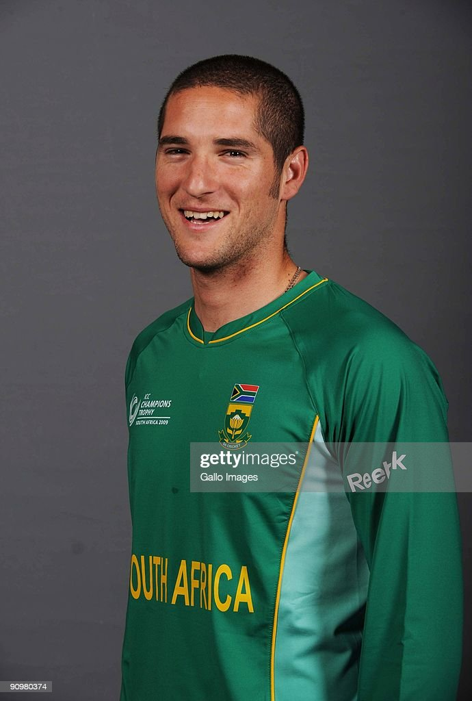 Wayne Parnell of South Africa poses during an ICC Champions photocall session at Sandton Sun on September 19, 2009 in Sandton, South Africa.