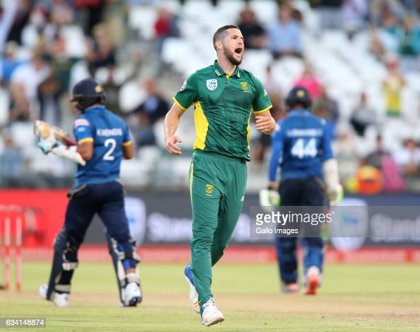 Wayne Parnell of the Proteas during the 4th ODI between South Africa and Sri Lanka at PPC Newlands on February 07 2017 in Cape Town South Africa