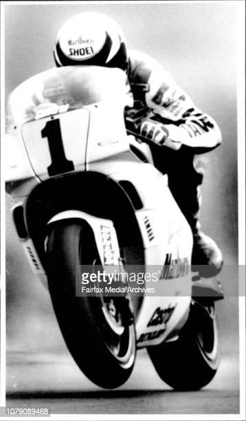 Wayne Rainey April 7 1991