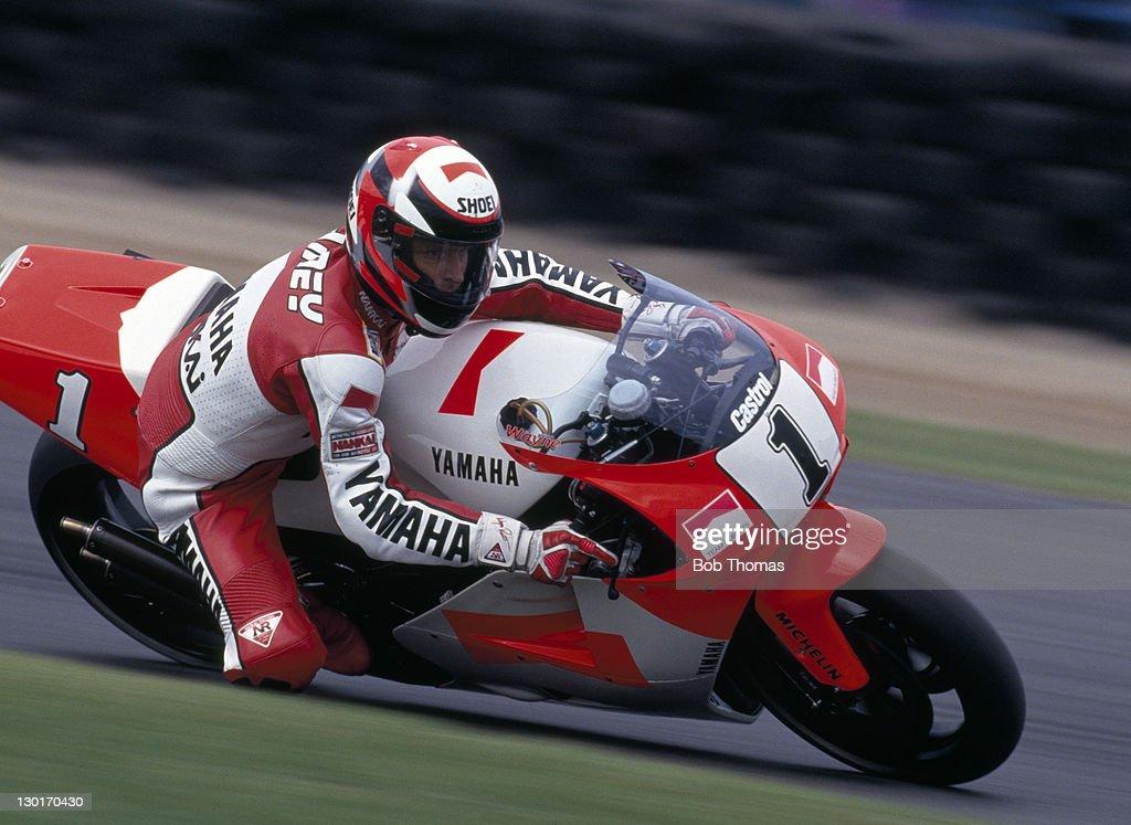 Wayne Rainey - Yamaha Motorcycle : News Photo
