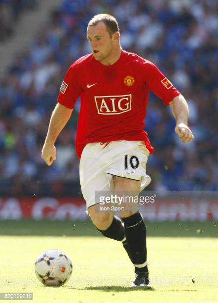 Wayne ROONEY Manchester United / Chelsea Community Shield Wembley Londres