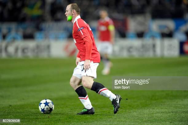 Wayne ROONEY Marseille / Manchester United 1/8 finale Champions League 2010/2011 Marseille