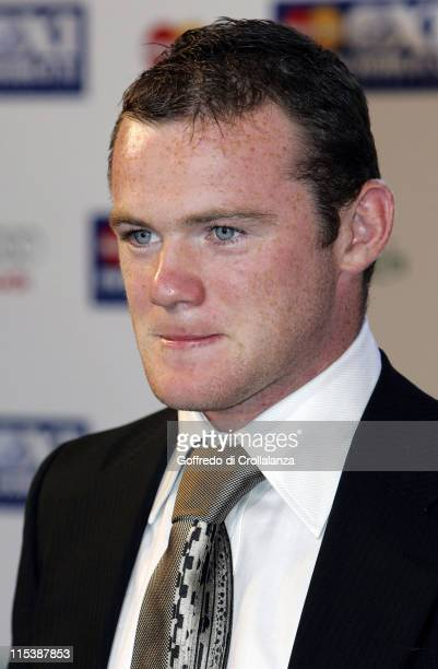 Wayne Rooney during FIFPRO World XI Player Awards at Wembley Conference Centre in London Great Britain
