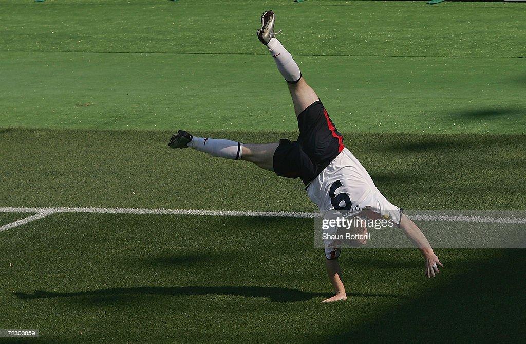 Euro 2004: England v Switzerland : News Photo