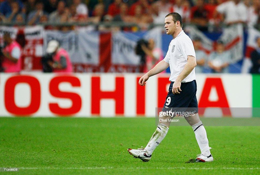 Quarter-final England v Portugal - World Cup 2006 : News Photo