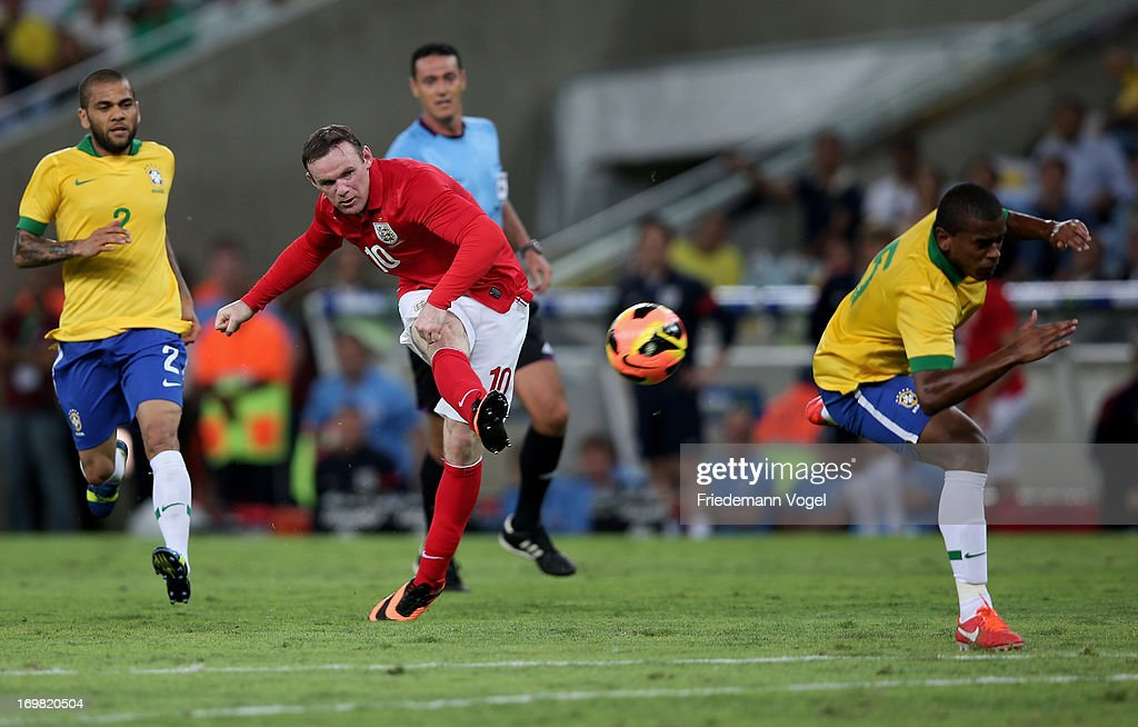 Brazil v England - International Friendly : Fotografía de noticias