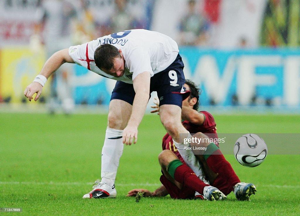Quarter-final Match England v Portugal - World Cup 2006