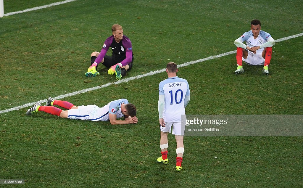 England v Iceland - Round of 16: UEFA Euro 2016 : News Photo