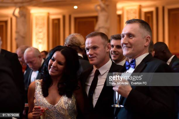 Wayne Rooney of Everton during the Everton in the Community Gala Dinner at St George's Hall on February 13 2018 in Liverpool England