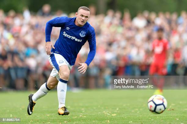 Wayne Rooney of Everton during the preseason friendly match between FC Twente and Everton FC on July 19 2017 in De Lutte Netherlands