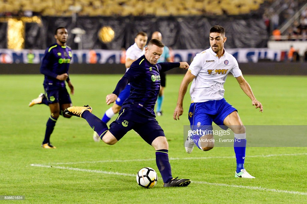 Hajduk Split v Everton - UEFA Europa League Qualifying Play-Offs Round: Second Leg : News Photo