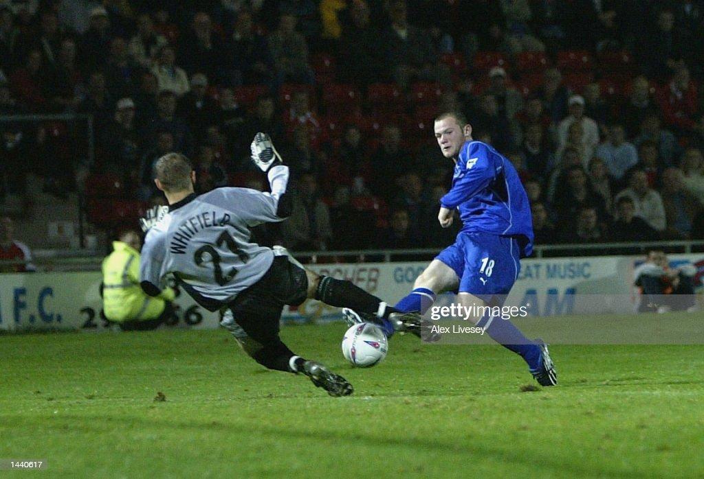 Rooney goal : News Photo
