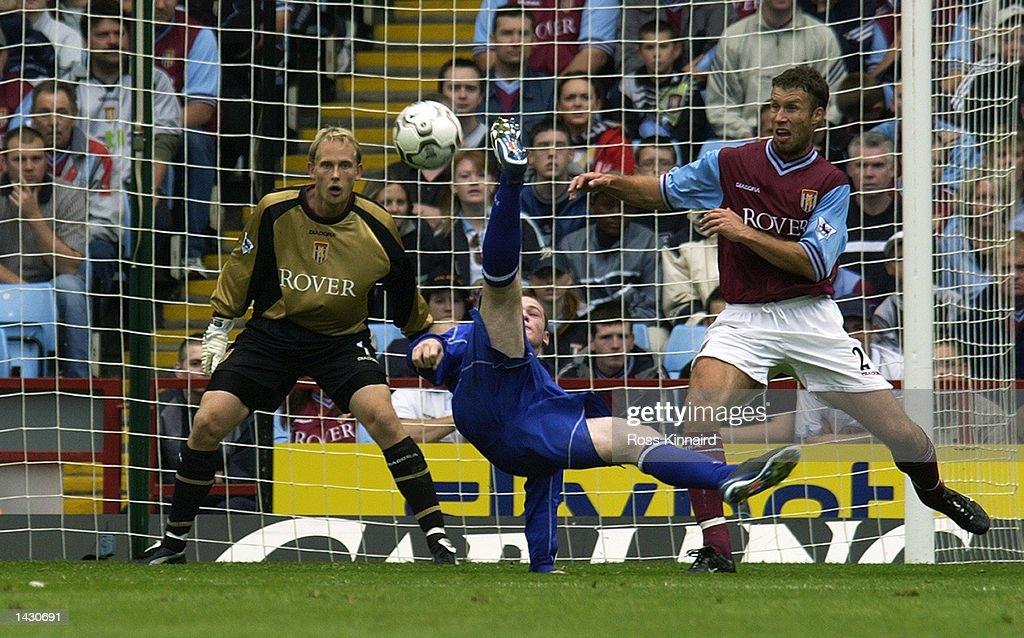 Wayne Rooney of Everton : News Photo