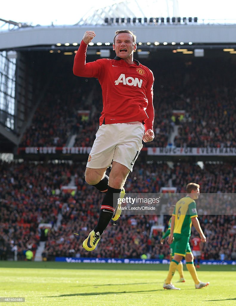 Manchester United v Norwich City - Barclays Premier League : News Photo