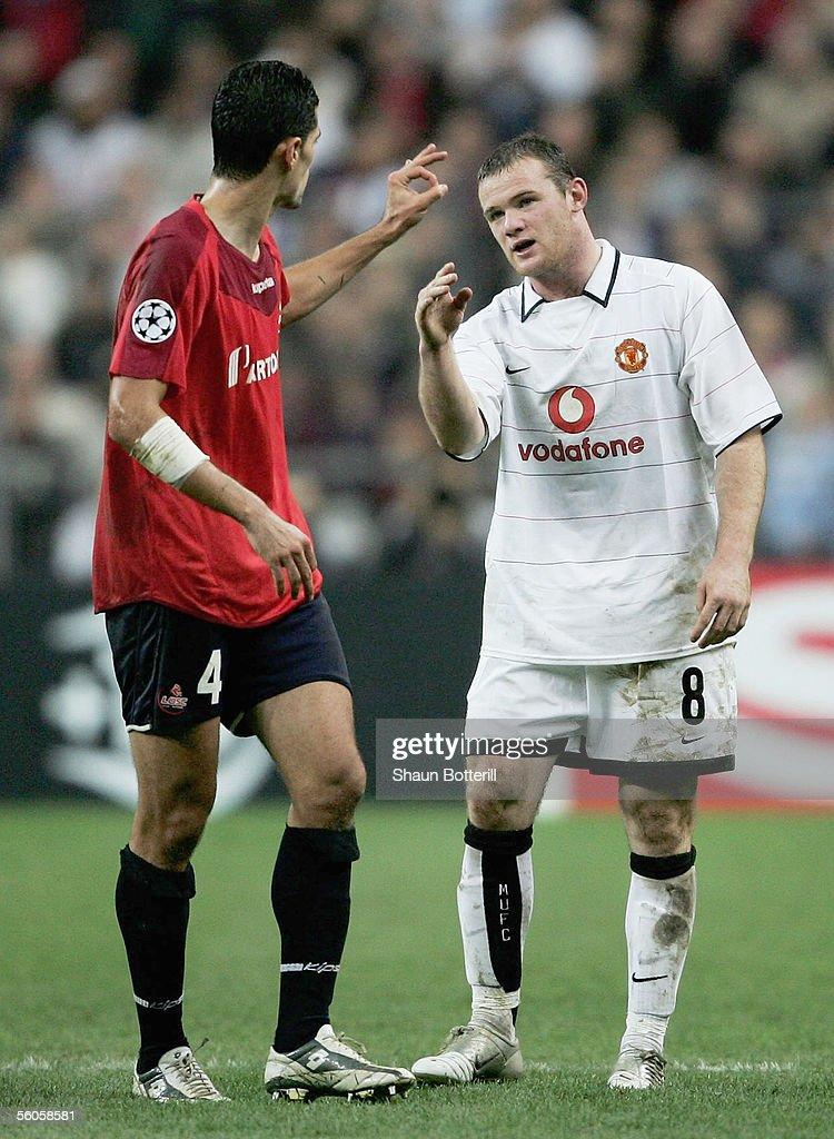 UEFA Champions league: Lille v Manchester United : News Photo