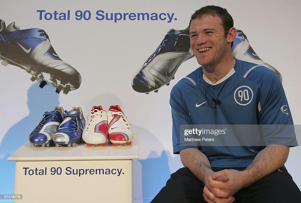 Wayne Rooney launches new Nike boot : News Photo