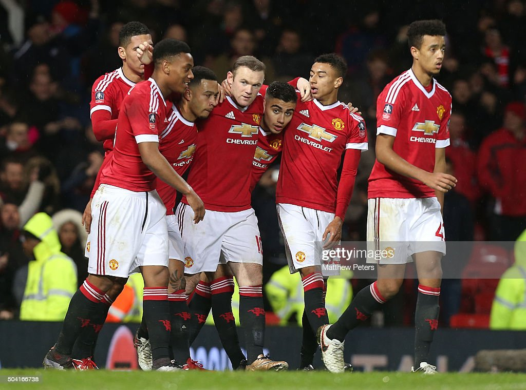 Manchester United v Sheffield United - The Emirates FA Cup Third Round : News Photo