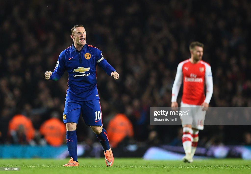 Arsenal v Manchester United - Premier League : Nachrichtenfoto