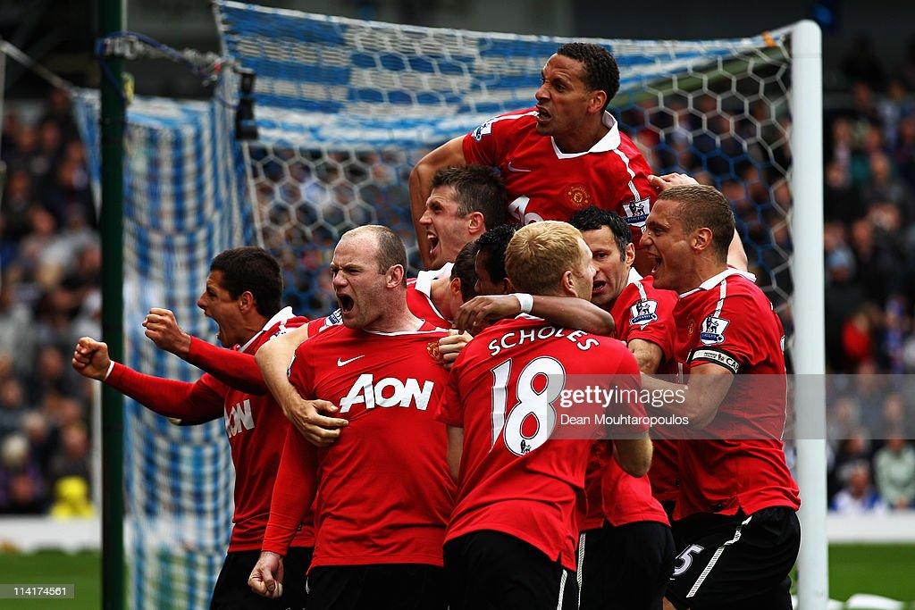 Blackburn Rovers v Manchester United - Premier League : News Photo