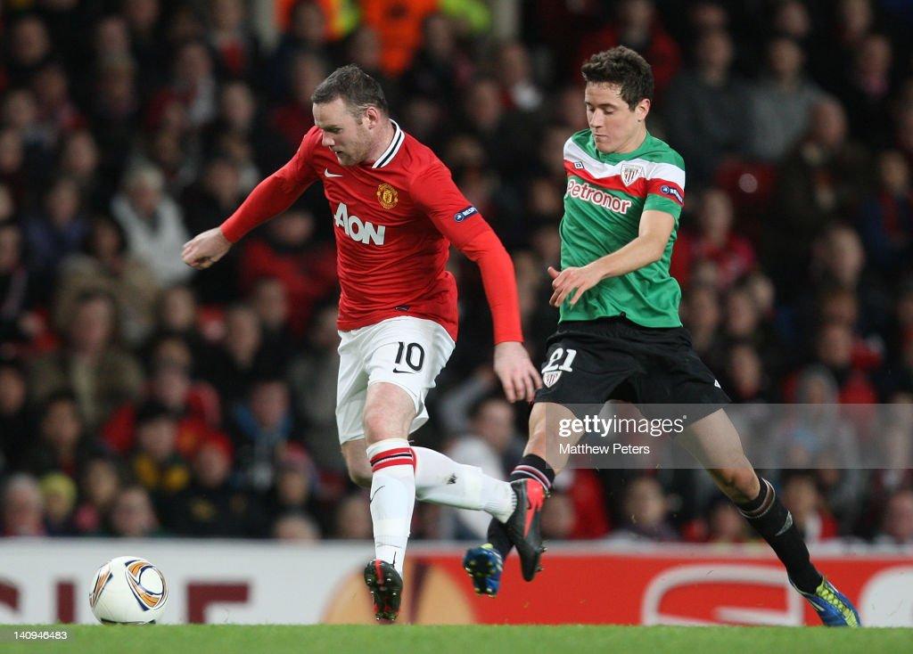 Manchester United FC v Athletic Bilbao - UEFA Europa League Round of 16 : News Photo