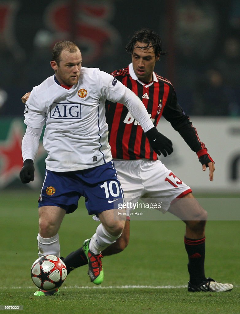 AC Milan v Manchester United - UEFA Champions League
