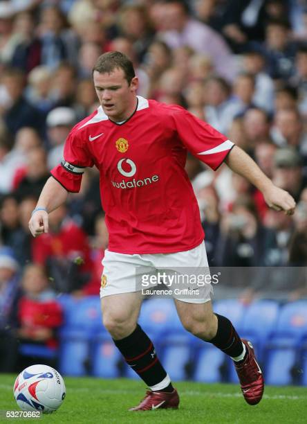 Wayne Rooney of Manchester United during the Pre Season Friendly match between Peterborough United and Manchester United at London Road on July 19...