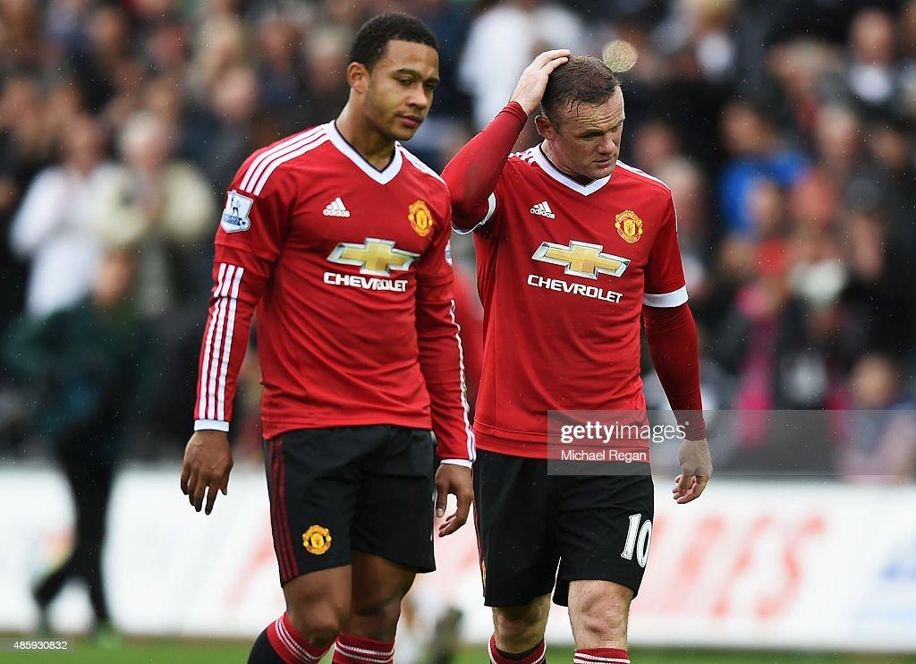 Swansea City v Manchester United - Premier League : Fotografía de noticias
