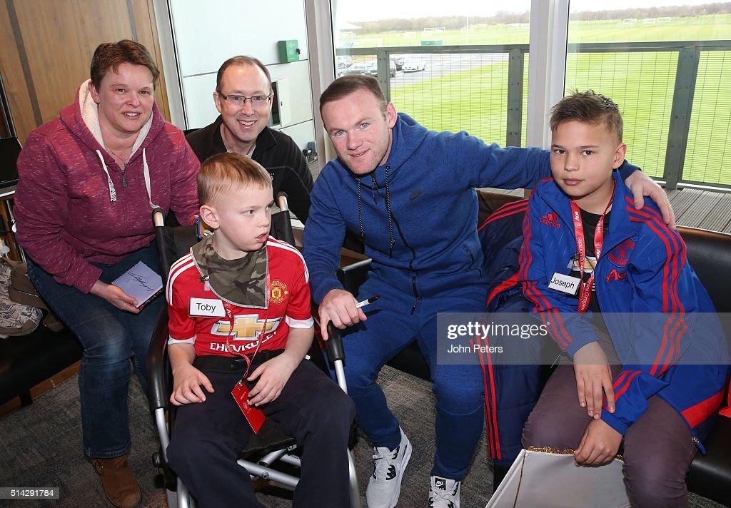 Manchester United Foundation Dream Day : Nieuwsfoto's