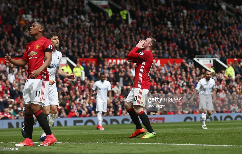Image result for Manchester United vs Swansea City pic