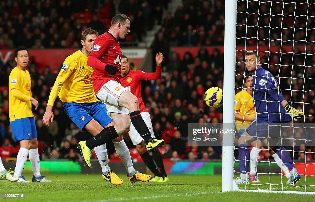 Manchester United v Southampton - Premier League : Foto di attualità