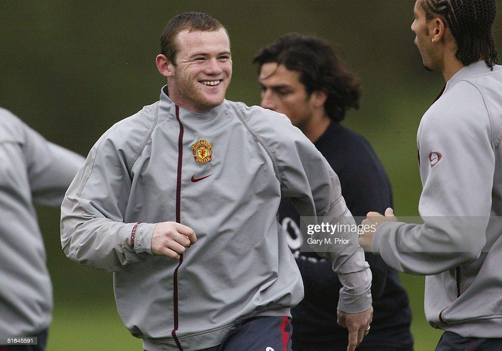 Manchester United training : News Photo