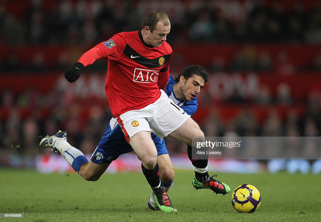 Manchester United v Wigan Athletic - Premier League : News Photo