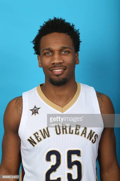 Wayne Selden Jr of the New Orleans Pelicans poses for a head shot on March 17 2017 at the Smoothie King Center in New Orleans Louisiana NOTE TO USER...