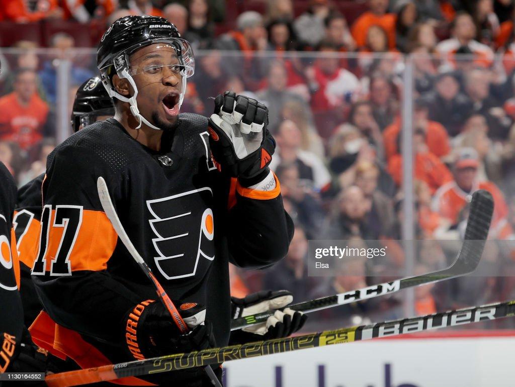 Detroit Red Wings v Philadelphia Flyers : News Photo