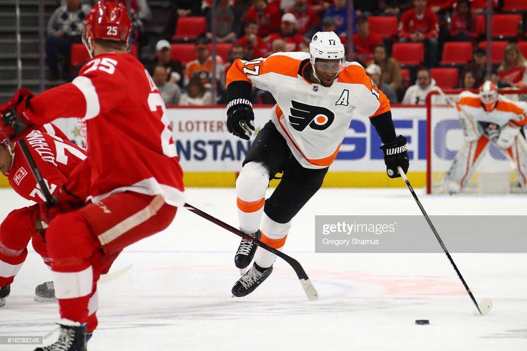 Philadelphia Flyers v Detroit Red Wings : News Photo