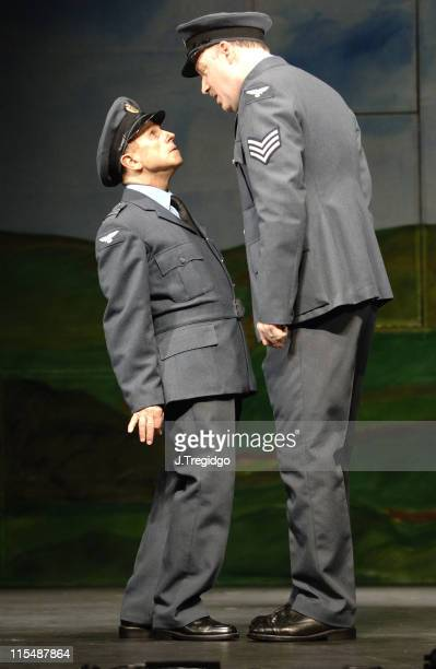 Wayne Sleep and James Head during Into Thin Air Photocall at New Players Theatre in London Great Britain