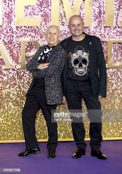 Wayne Sleep and Jose Bergera attend the World Premiere of 'Bohemian Rhapsody' at The SSE Arena Wembley on October 23 2018 in London England