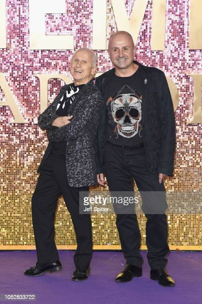 Wayne Sleep and Jose Bergera attend the World Premiere of 'Bohemian Rhapsody' at SSE Arena Wembley on October 23 2018 in London England