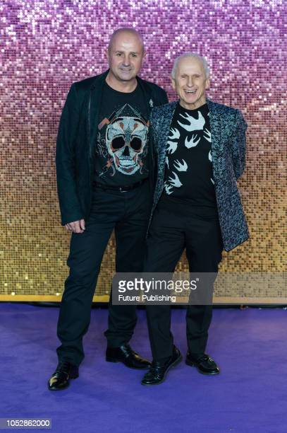 Wayne Sleep and Jose Bergera attend the World Premiere of 'Bohemian Rhapsody' at the SSE Arena Wembley in London October 23 2018 in London United...