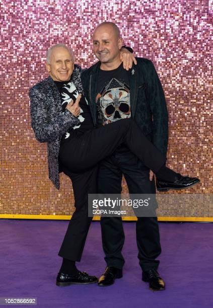 Wayne Sleep and Jose Bergera attends the World Premiere of 'Bohemian Rhapsody' at SSE Arena Wembley