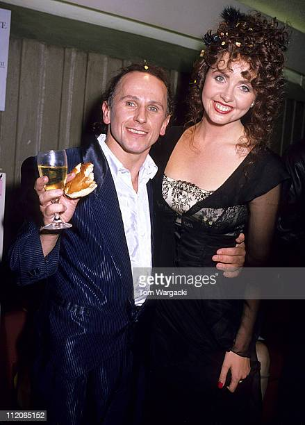 Wayne Sleep and Sarah Brightman during Cats Eighth Birthday Party in London Great Britain