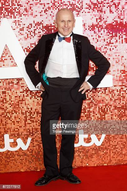 Wayne Sleep arriving at the ITV Gala held at the London Palladium on November 9 2017 in London England