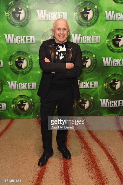 Wayne Sleep attends an after party to celebrate 13 years of hit musical Wicked at London's Apollo Victoria Theatre on September 26 2019 in London...